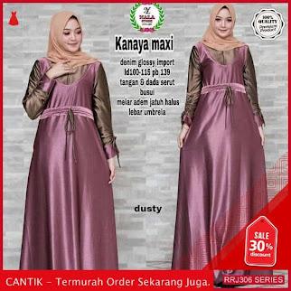 Jual RRJ306D193 Dress Maxy Kanaya Wanita Wd F Terbaru BMGShop