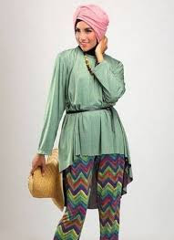 Model baju Muslim Cantik dan Elegan Modern masa kini