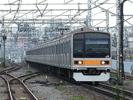 【ダイヤ改正で新登場!】209系1000番台の中央特快 高尾行き