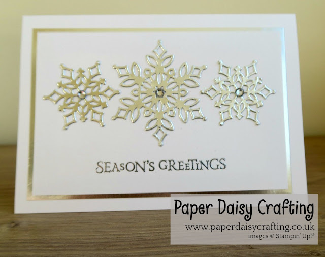 Snowfall Thinlits dies Stampin' Up!