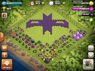 foto clash of clans