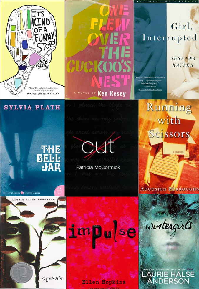 The Awkward Indie Girl: Fiction Books on Mental Illness