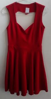 vestido vermelho Drimy tam M