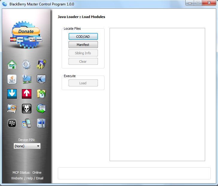 Gratis Download Blackberry Master Control Program 1 0 0