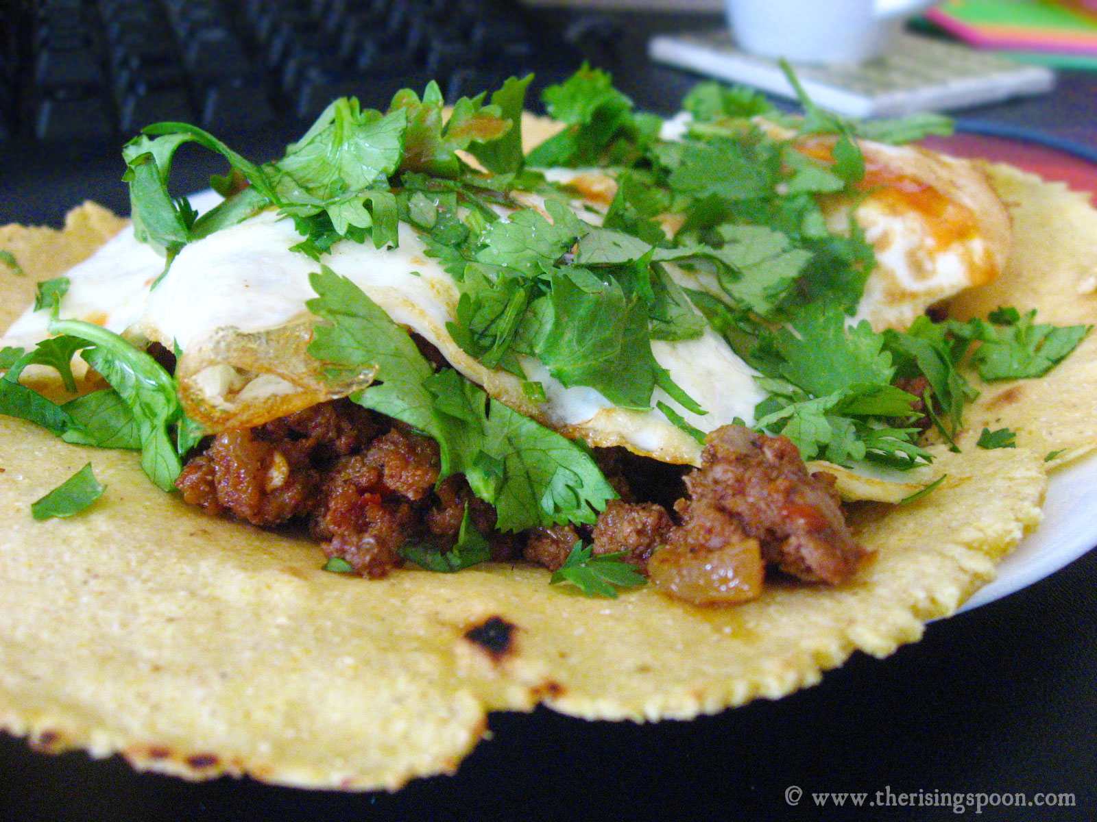 How To Make Homemade Corn Tortillas With Masa Harina Grass Fed Beef Breakfast Tacos The Rising Spoon