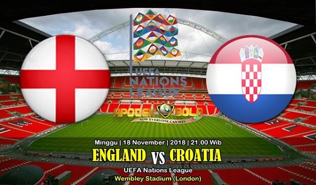 Prediksi England Vs Croatia 18 November 2018