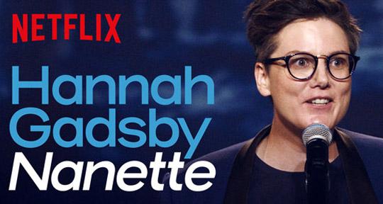 Cartaz de Nanette no Netflix
