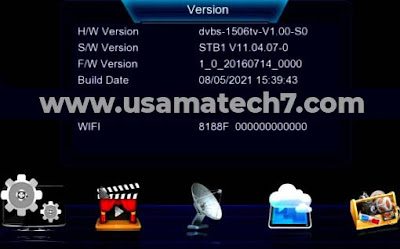 DRAKE 2000W 1506TV STB1 NEW SOFTWARE
