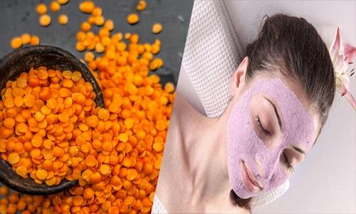 Masoor Dal Face Packs for Glowing Skin | Easy Homemade Red lentil Face Packs