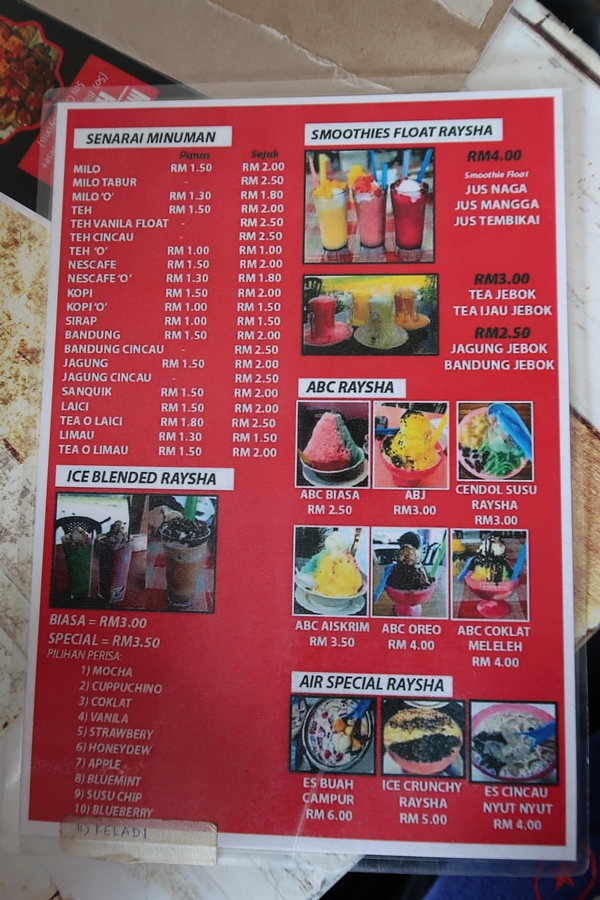 Warung Raysha Ketereh Kelantan