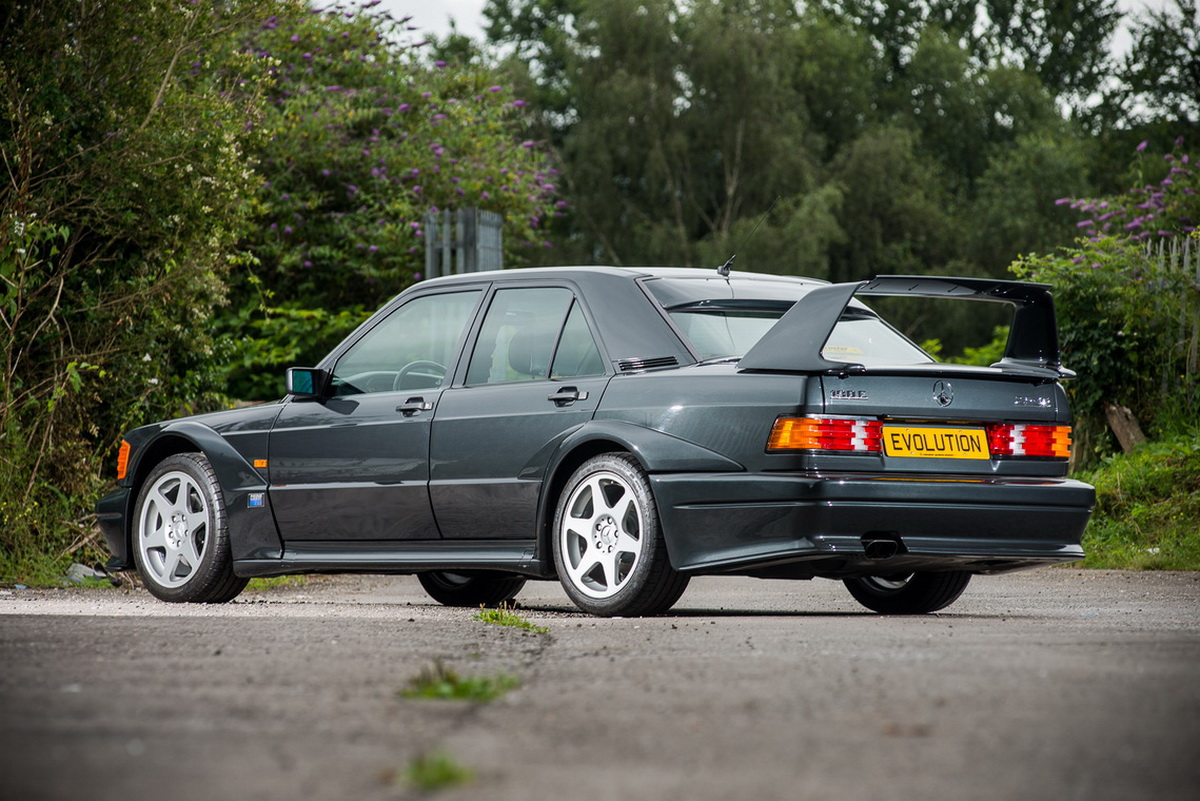Unused Mercedes 190E 2.5-16 Evolution II Pops Up For Auction [26 ...