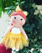 Bonecas De Crochê Com Dicas De Receitas