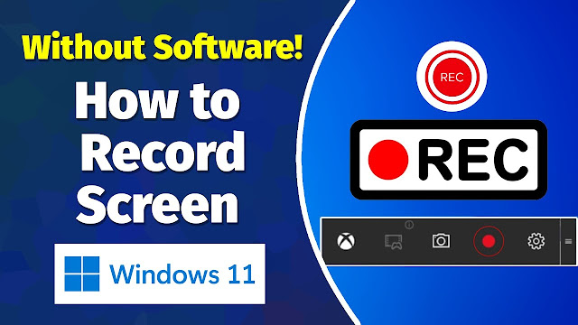 Record Your Computer Screen without Any Software at Windows 10 । iTSharif