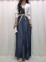 Maxi Denim + Cardigan SOLD OUT