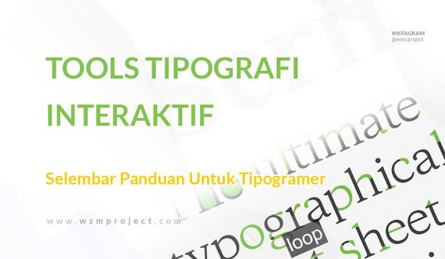 tools Interaktif Tipografi