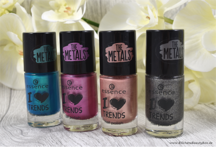 essence The Metals neue Farben