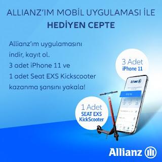Allianz'ım Mobil Uygulaması ile Hediyen Cepte!