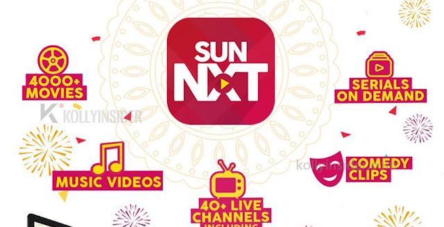 Sun TV SunNXT to premiere movie