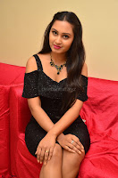 South Actress Amulya in short black dress at Kalamandir Foundation 7th anniversary Celebrations ~  Actress Galleries 047.JPG