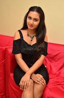 South Actress Amulya in short black dress at Kalamandir Foundation 7th anniversary Celebrations ~  Actress Galleries 047.JPG