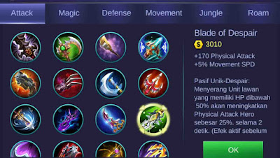 Build Ling Mobile Legends 6