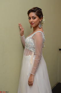 Anu Emmanuel in a Transparent White Choli Cream Ghagra Stunning Pics 050.JPG