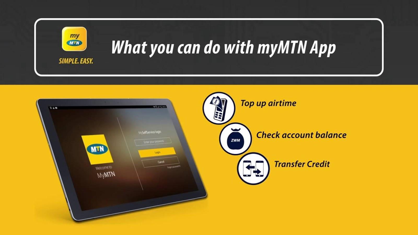 mymtn app functions