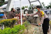 Program Kapolda Sulsel, Sumbang Seribu Nasi Dos pada Masyarakat