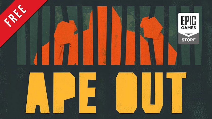 ape out free pc game epic games store indie beat 'em up game gabe cuzzillo devolver digital