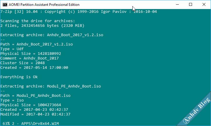 1 click tạo usb boot uefi legacy đa năng với Mini Windows 10/8/7/XP