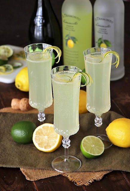 Sparkling Limoncello Coolers Image