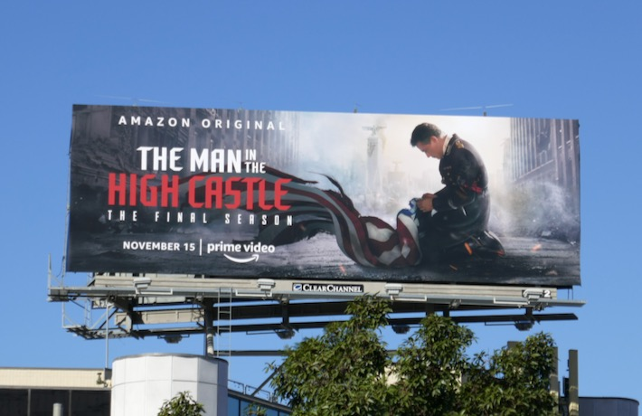 Man in the High Castle season 4 billboard