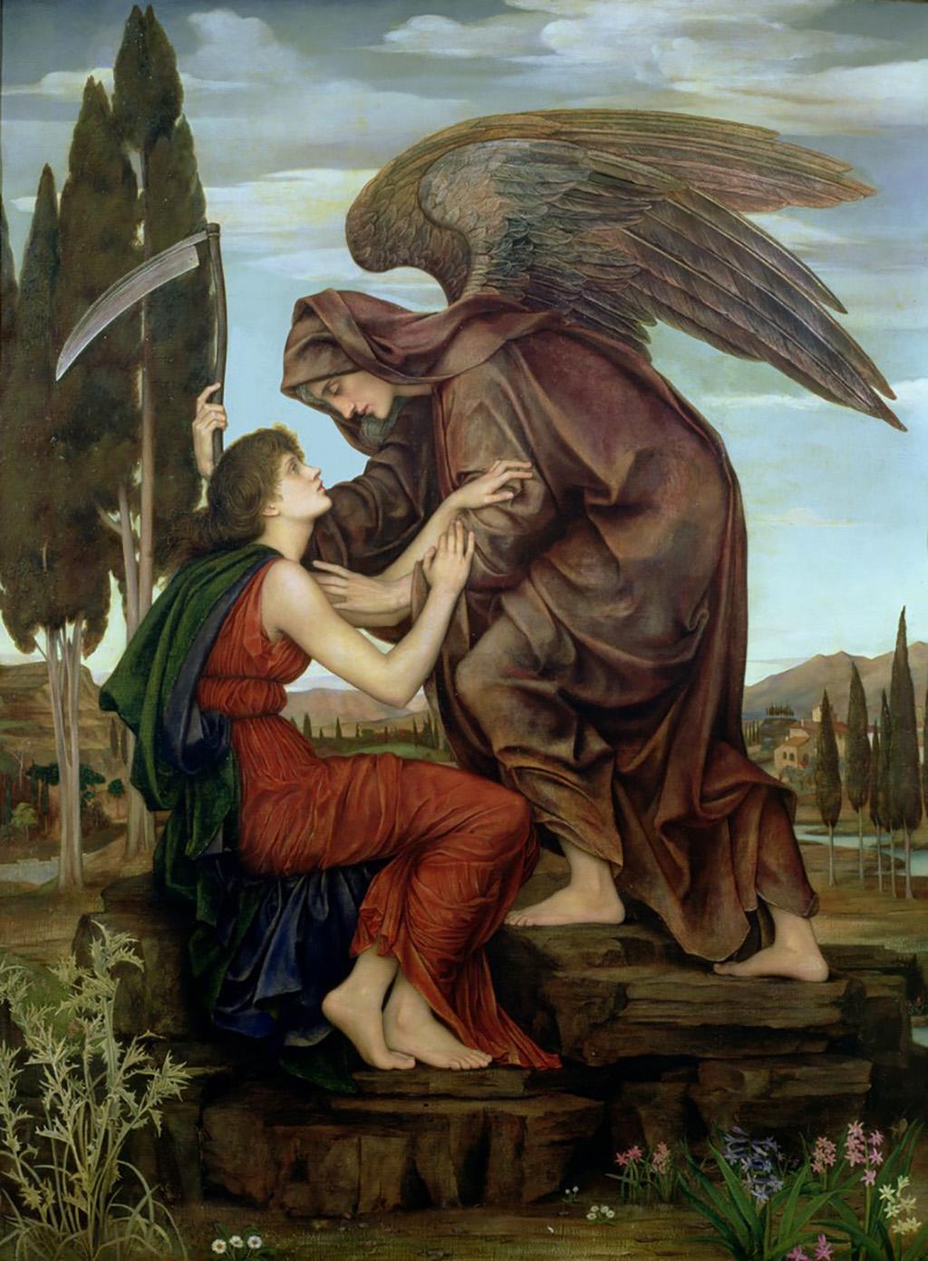 Ceifeiro, ceifador, morte, anjo da morte, dança macabra, azrael