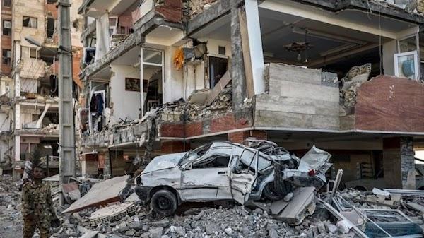URGENTE: mas de 500 heridos en iran por el fuerte sismo.