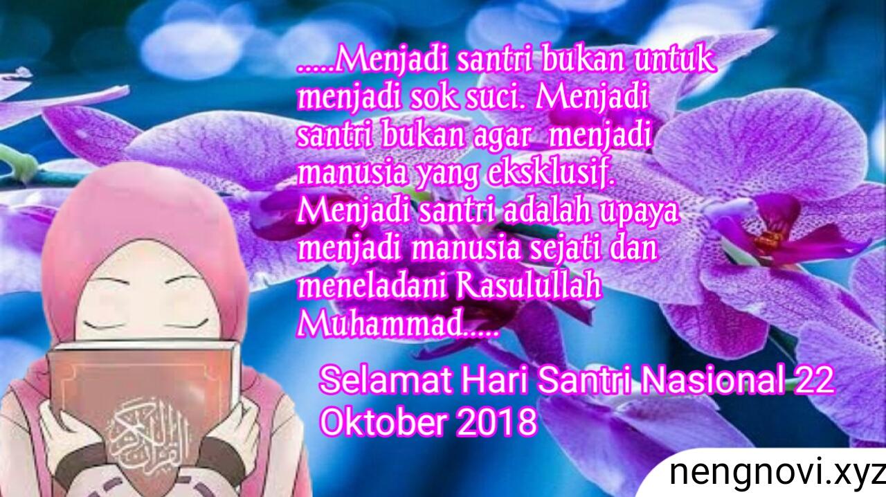10 Kumpulan Kartu Ucapan Selamat Hari Santri Nasional 22 Oktober