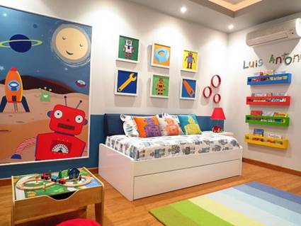 Cool and Stylish children's themed rooms 4