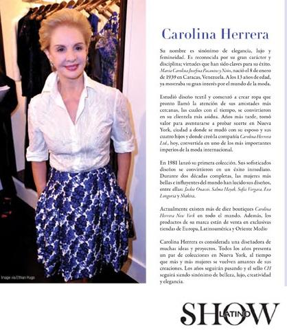 Latino Show Magazine The Top 5 Latin Designers Of 2012
