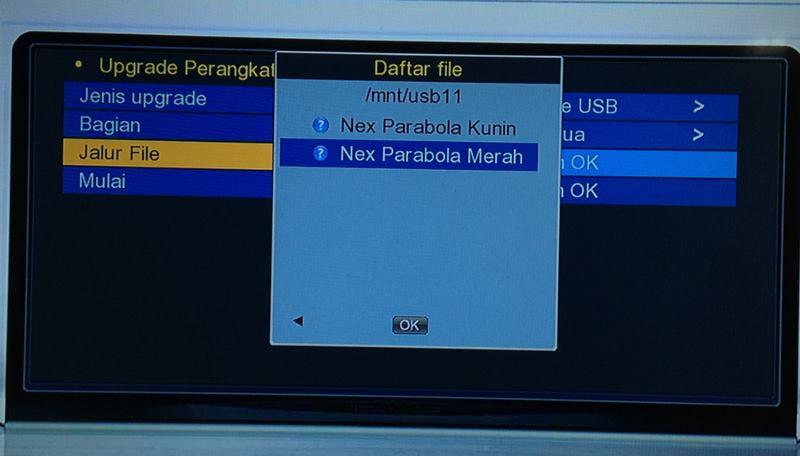 File Upgrade Nex Parabola Merah
