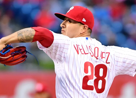 Vince Velasquez tosses two scoreless innings