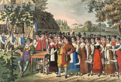 Weber: Der Freischütz in 1822