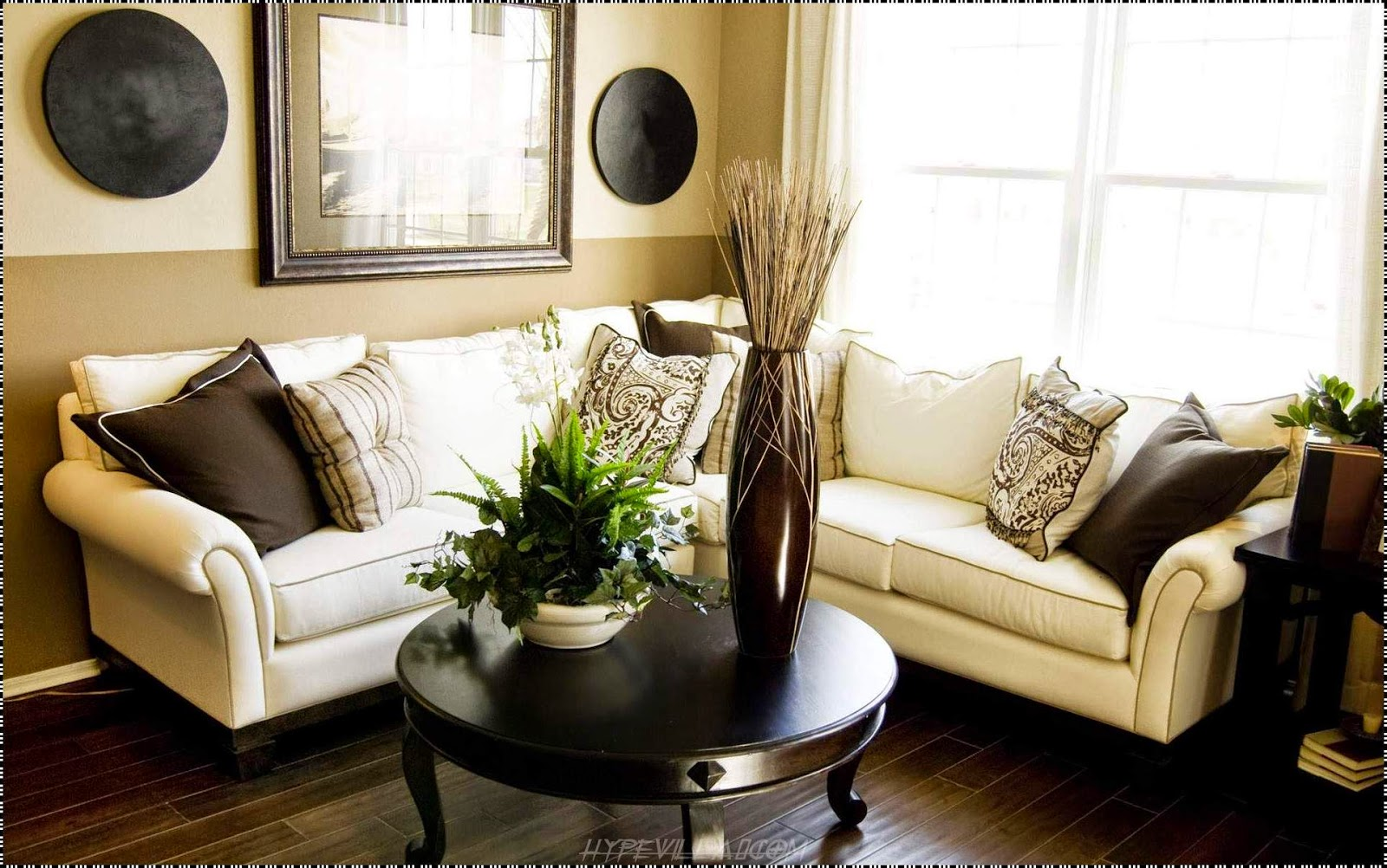 Picturesque Simple Living Room Dining Room Interior Design