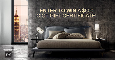 Enter to Win a $500 Ciot Gift Certificate!