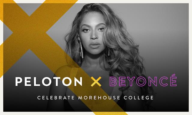 Practice on Beyoncé's music With Peloton