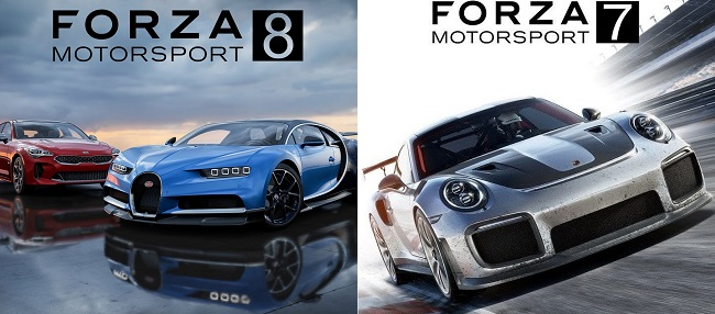 Differences in Forza Motorsport 8 vs Forza Motorsport 7