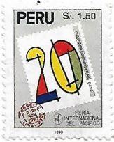 Selo 20ª Feira Internacional do Pacífico