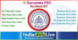 karnataka-psc-recruitment-kpsc-indiajoblive.com