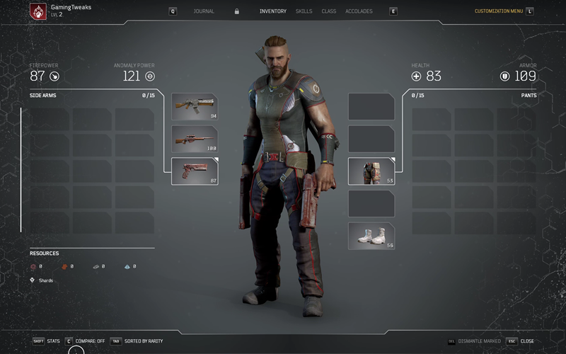 Outriders Inventory Gaming Tweaks 1