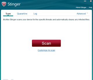 Free Download McAfee Labs Stinger
