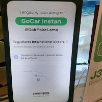GoCar Instan untuk Penumpang Bandara