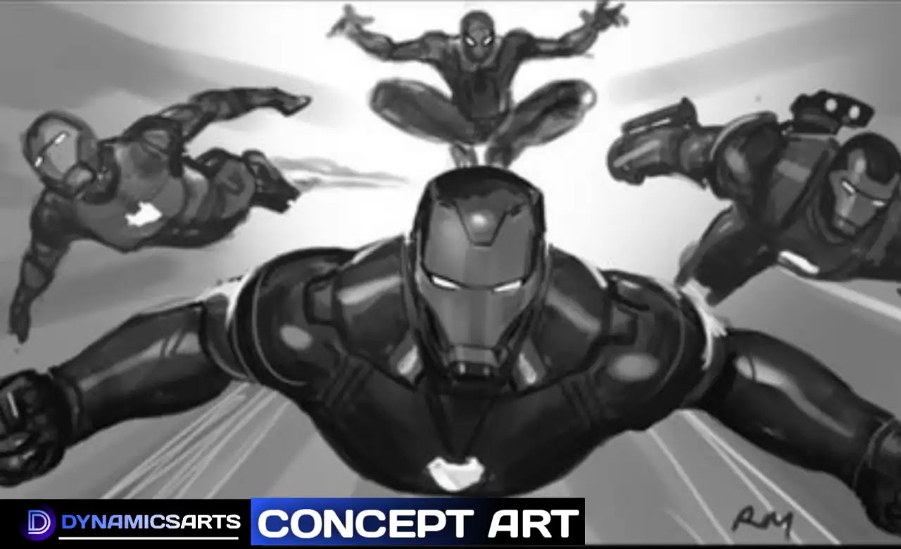 Avengers Endgame New Concept Art Reveals Ironman Family